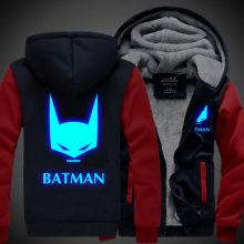Batman hoodie with Luminous picture