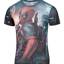 Deadpool 3D Printed  T-Shirt