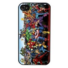 Marvel All Character Case for iPhone 4/4s/5/5s/5c/6/6s/6plus/6s plus