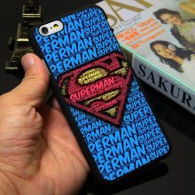 Superman Iron Man case for iPhone 4 4s 5 5c 5s SE 6 6s 6 6s plus