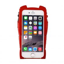 New Version 3D Ironman Hard Back Led Flash Light Case For iPhone 6/6s