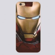 Ironman mask for  case   for iPhone 4 4s 5 5c 5s 6 6s 6plus