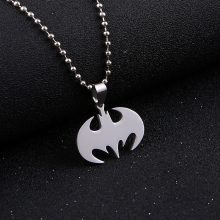 Batman Stainless Steel Pendant Necklace
