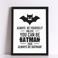Batman Quote  Poster