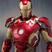 Iron man movable action figure