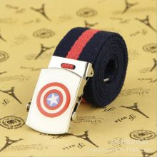 Captain America belt with buckle