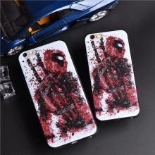 Deadpool Soft Silicone Case For all iPhones